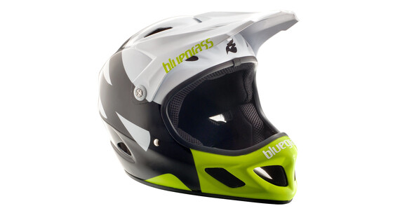 bluegrass Explicit Helmet white/black/yellow